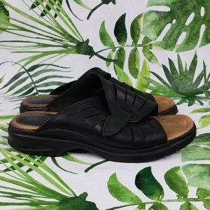 - Ariat black leather slides 96001 size 7